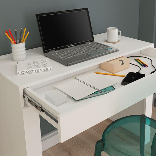 escrivaninha cléo  permóbili - branco