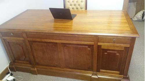 escrivaninha inglesa - mesa de escritório clássica