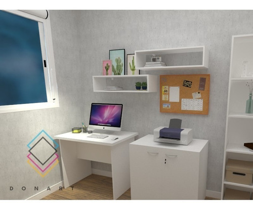 escrivaninha/mesa p/ escritório computador notebook 90x60x28