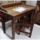 escrivaninhas em madeira de demolição rustica