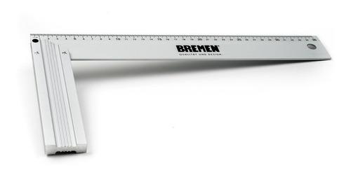 escuadra carpintero 35 cm aluminio 14 pulgadas bremen 6825