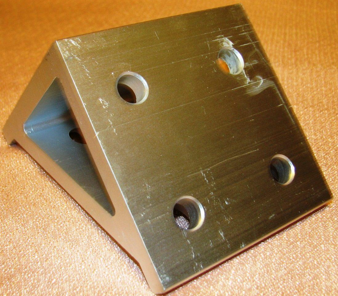 Escuadra doble para perfil de aluminio 20 440 parker - Perfil de aluminio precio ...