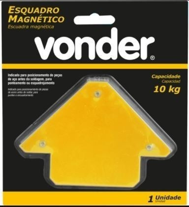 escuadra magnetica 10kg vonder - ynter industrial