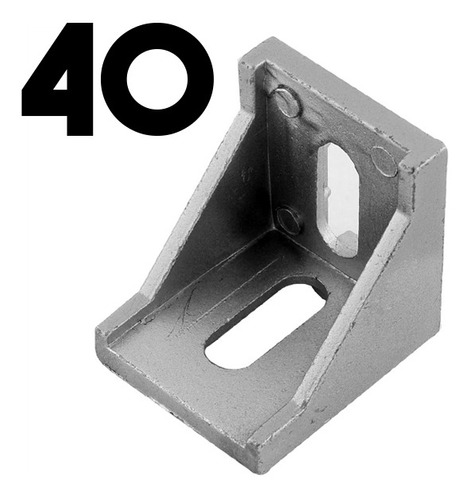 escuadra perfil aluminio 4040 impresora 3d core bosch angulo