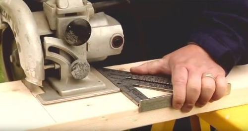 escuadra rápida carpintería - carpintero de aluminio macizo