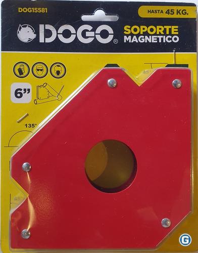 escuadra soporte magnético 6 pul 45 kg soldar dogo gramabi