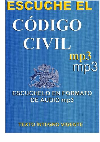 escuche el codigo civil en formato de audio mp3