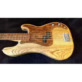 Escudo Baixo Precision Fender Squier Pbass Madeira