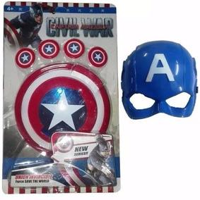 América Lanza Capitán Mascara Avengers Juguete Escudo Marvel rWQoExdBeC