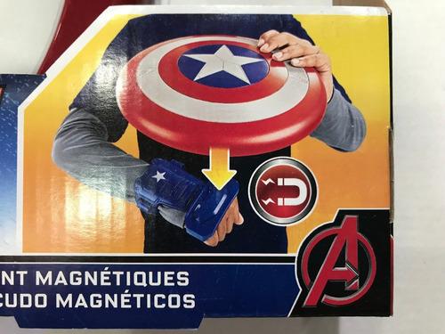 escudo capitán américa original hasbro! magnético