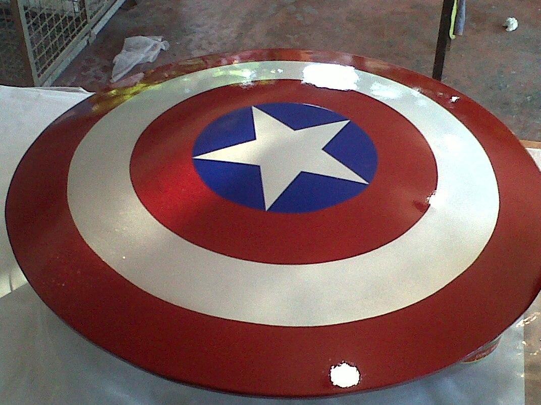 Escudo Capitan America Plantillas Para Armar - $ 99,00 en Mercado Libre