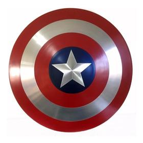 Escudo Capitão América - Réplica - Aluminio 60 Cm