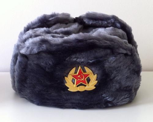 escudo cccp urss para gorro ushanka