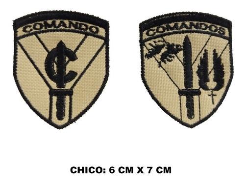 escudo comando fuerzas especiales parche bordado chico