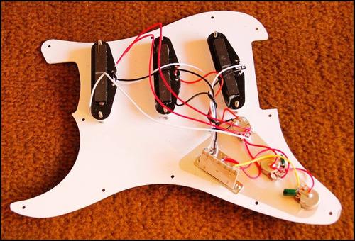 escudo completo para guitarra pronta entrega