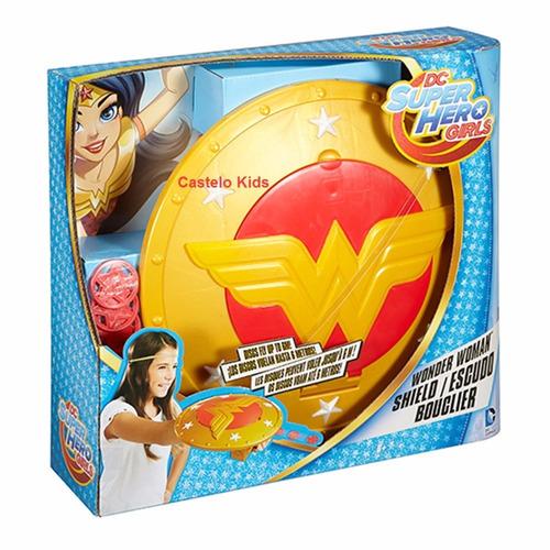 escudo da mulher maravilha - dc super hero girls e