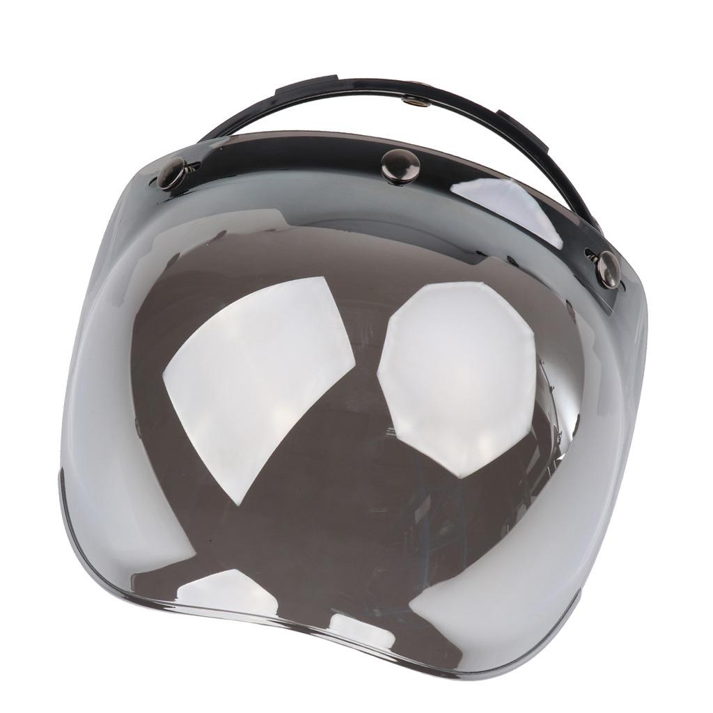 3c93f11b2c32e escudo de burbuja de 3 botones para cascos de motoristas. Cargando zoom.