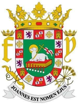 Escudo De Puerto Rico - Símbolos Patrios - Lámina 45x30 Cm ... - photo#34