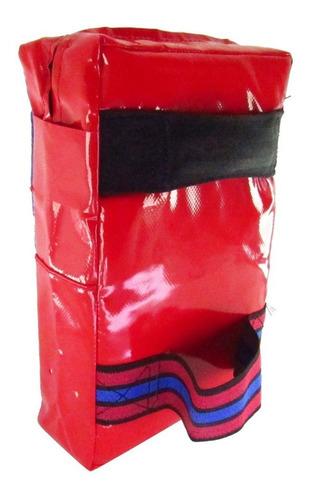 escudo foco sparring cuadrado gran marc artes marciales tkd