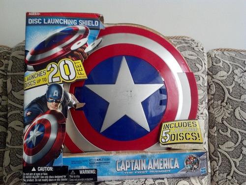 escudo lanza discos capitan america - hasbro