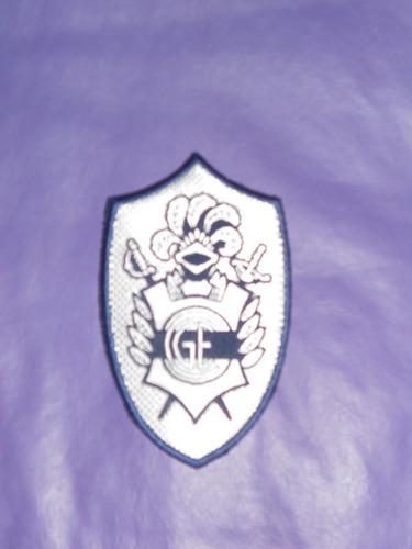 escudo oficial camiseta gimnasia y esgrima lp 12 cm!