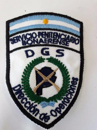 escudo parche de brazo policia penitenciaria dir operaciones