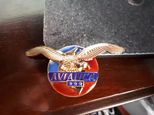 escudo piloto avianca antiguo