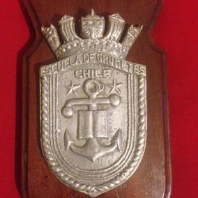 5f37fdc2cae Insignia Piocha Escuela Naval - Insignias y Medallas Militares en Mercado  Libre Chile