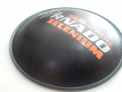 escudo protetor p/ alto falante  selenium tornado 2200 160mm