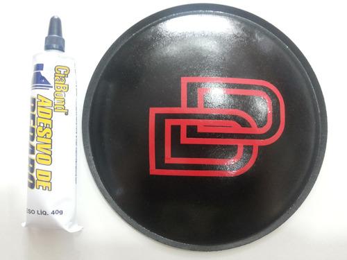 escudo protetor para alto falante dd 160mm + cola