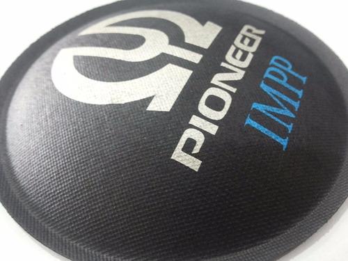 escudo protetor para alto falante pioneer impp 106mm + cola