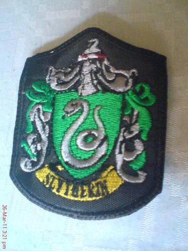 escudo slytherin draco malfoy harry potter igo coleccionable