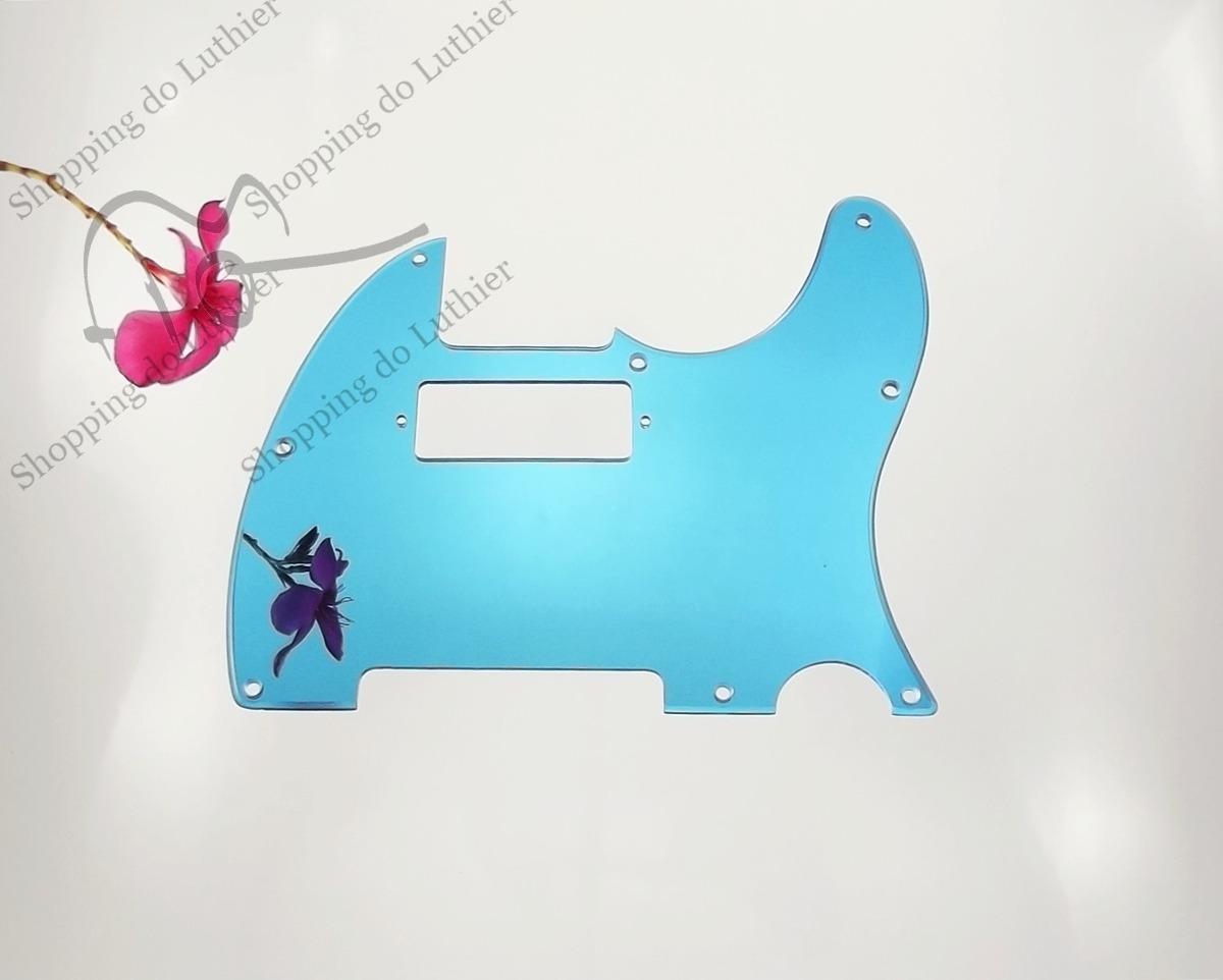 Escudo Telecaster Am Std Mini Humbucker Espelho Azul - R$ 100,00 em ...