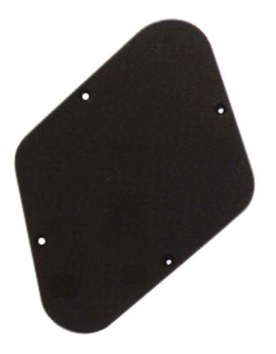 escudo traseiro guitarra les paul preto