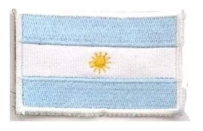 escudos bordados banderas militares chicas argentina