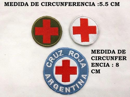escudos bordados cruz roja