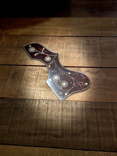 escudos p/ violão jumbo/folk pickguard 91 guitar's