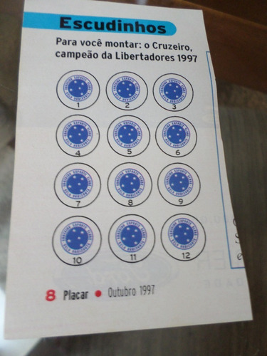 escudos para jogo de botão futebol de mesa cruzeiro placar