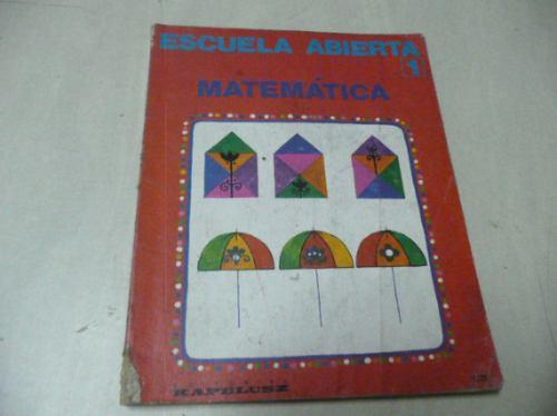 escuela abierta  1  matematica