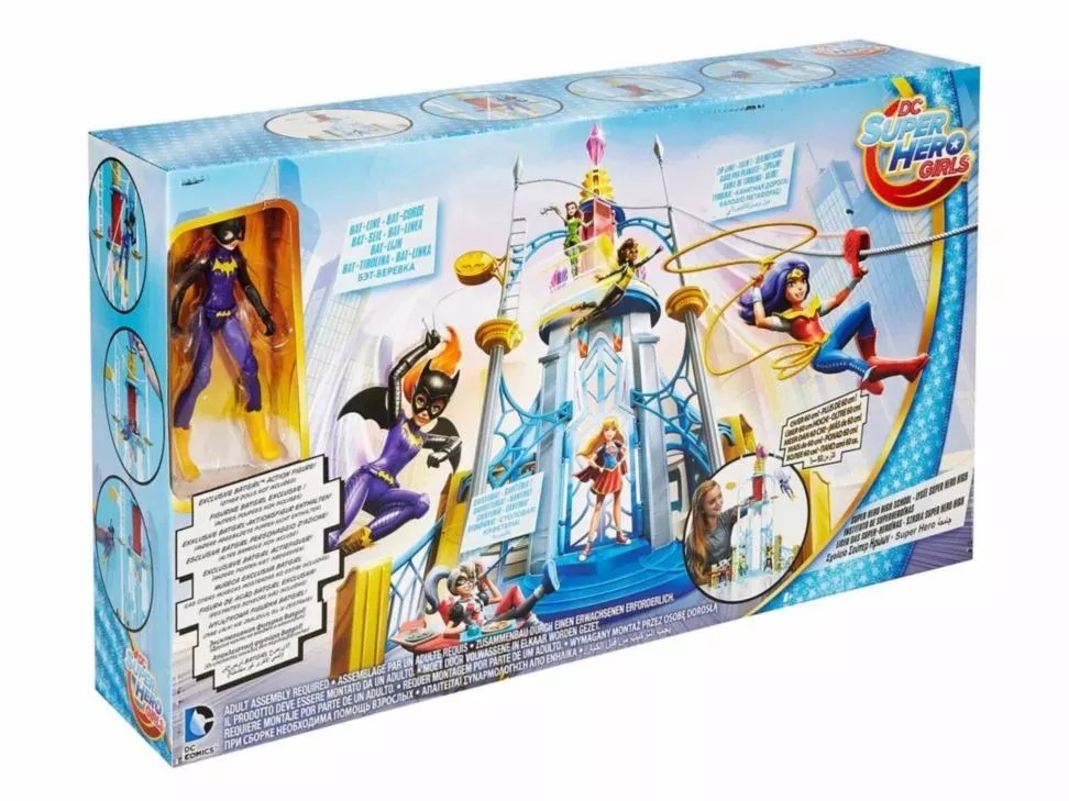 Escuela Dc Super Hero Girls High School Mattel 130000 En