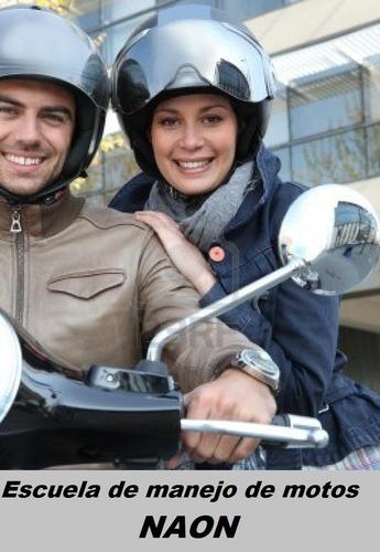 escuela de manejo de moto alquiler a.c.a a21 a22  a3 scooter