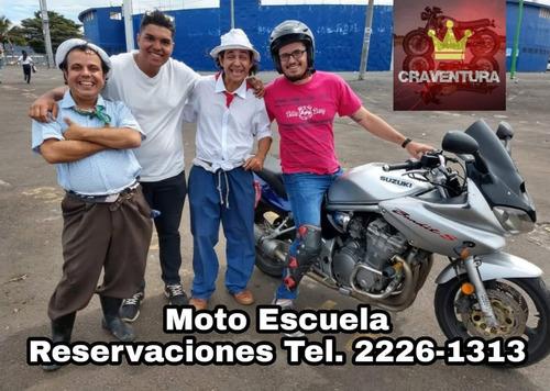escuela de manejo especializada en motocicletas a1 - a2 - a3