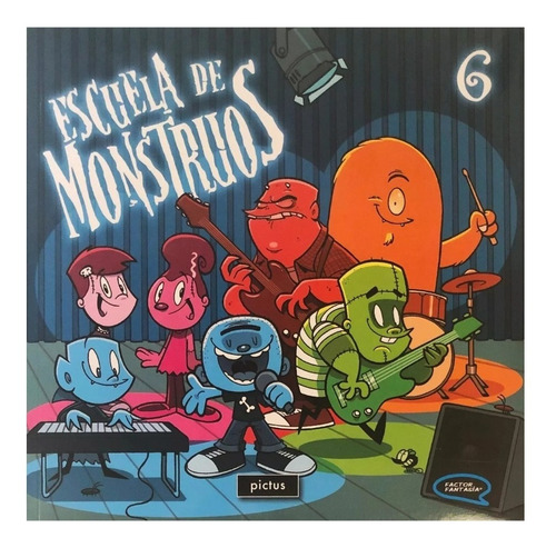 escuela de monstruos #6 - ed. pictus - hotel transilvania