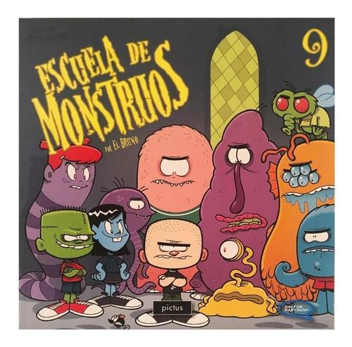 escuela de monstruos 9 - pictus - similar hotel transilvania