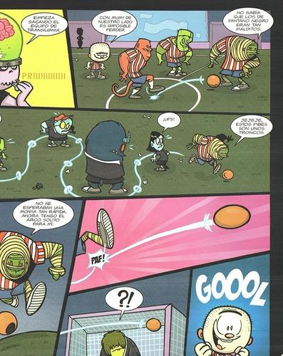 escuela de monstruos vol 4 - ed. pictus - terror y humor