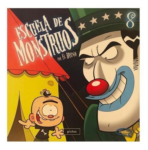 escuela de monstruos vol 8 - ed. pictus - hotel transylvania