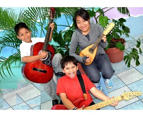 escuela de música todas edades desde 5 años