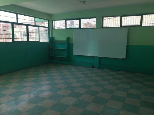 escuela en venta en valle de aragon a una cuadra del metro río de los remedios