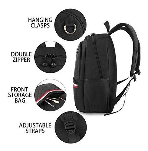 escuela mochila color negro