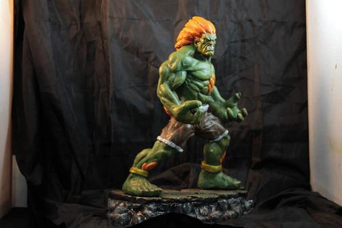 escultura blanka streetfighter